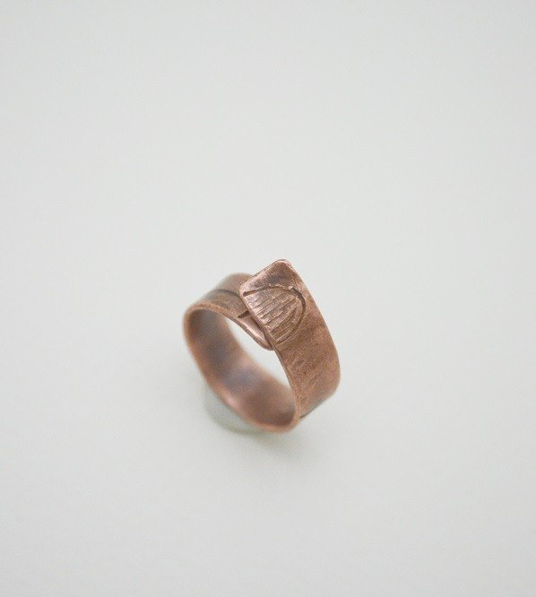 The Trace Of Life‧Copper Open Size Ring-III