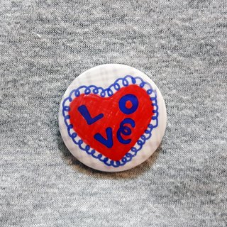 POPINGARTSHOP【ABOUT LOVE】 PIN BROOCH  Valentine's Day GIFT