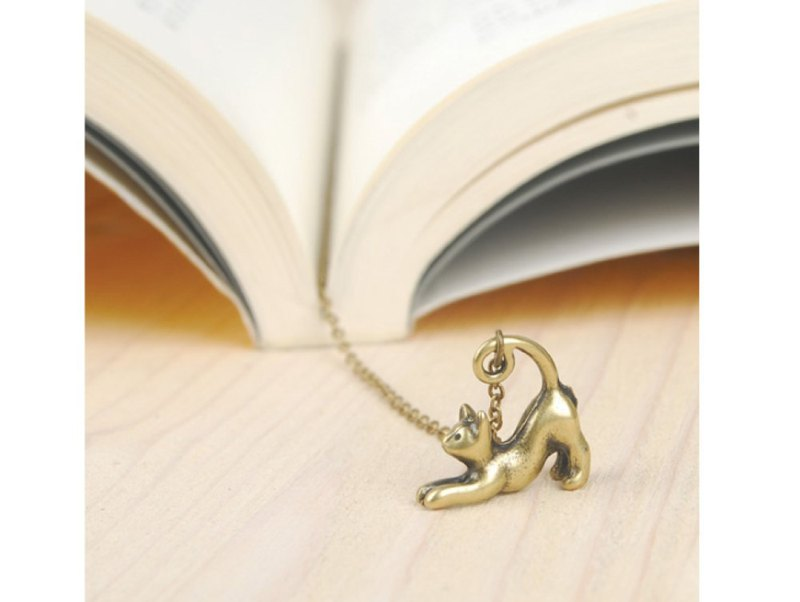 Streching cat bookmark