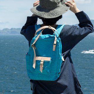 【ZeZe Bag】DYDASH x 3way/hand bag/shoulder bag/backpack/diaper bag/contrast color(Blue Sky )