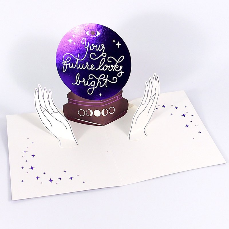 Purple Mysterious Crystal Ball [Up With Paper Luxe]