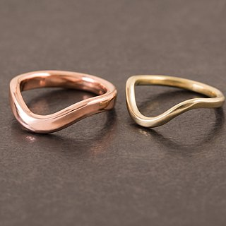 Curve Ring Lecture Ring - Copper - Breeze