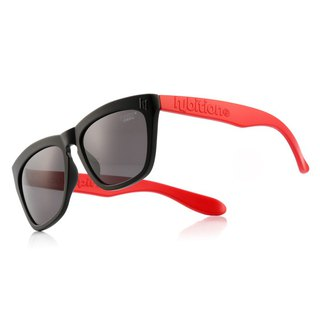 Korean Hybition Sunglasses Sugary TR Matt Black / Red Black / Red