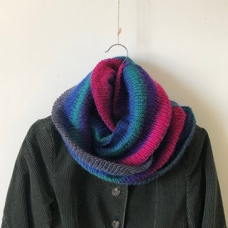 Magic Day - Gradient Color - Handmade Woolen Neck Scarf