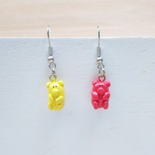 Bear candy | earrings | ear hooks