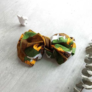 [shell art] turmeric flower giant butterfly hair band - non-tender