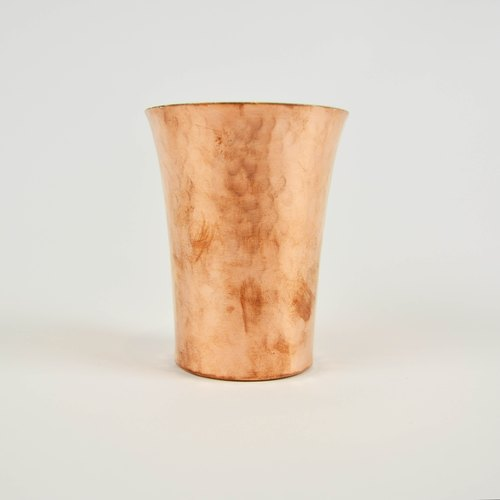 Copper wide mouth cup _ fair trade