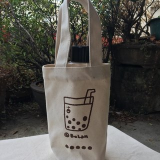 Drink bag / pearl milk tea bags to buy pearl milk tea!