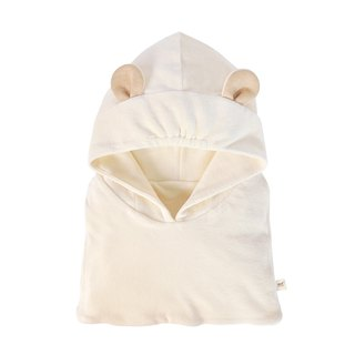 [SISSO Organic Cotton] Bear Scarf Hat