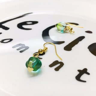 ◙ ◙ clip-on can be changed Xiaojiabiyu | Glass | Glass Dangle Earrings