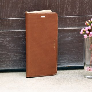 iPhone 6 PLUS /6S PLUS / 5.5 inch Slipcase Series Leather Case - Brown