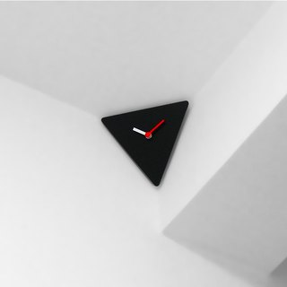 Ultimate Corner Clock (black)