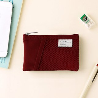 Livework Leisure Double Double Folding Ticket Card Coin Purse V2-Raspberry Raspberry Red, LWK56252