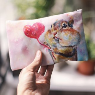 Multifunction Small Items Bag Squirrel
