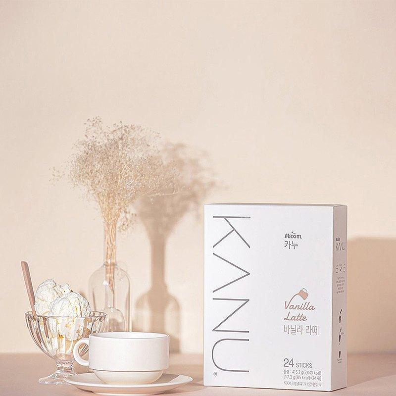 KANU 香草拿鐵咖啡 415.2g(17.3g×24入/盒)
