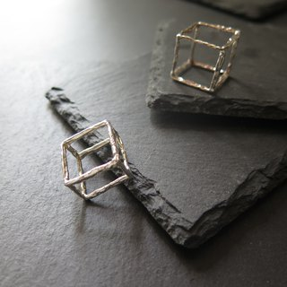 único Series - Cube  (925 Sterling Silver Ring)