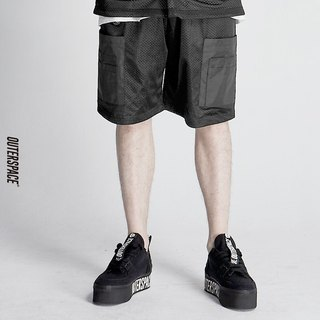 OUTER SPACE MA1 webbing pocket shorts