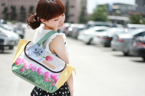 [Henry House] Waterproof Tote Bag - Tulip / FWT1-63