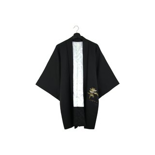 Back to Green-Japan brought back feather weaving bamboo forest / vintage kimono