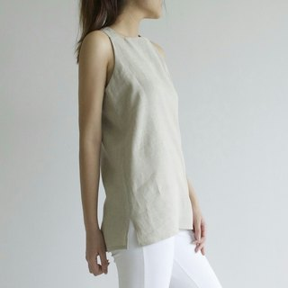 linen top, linen clothing,women clothing,linen blouse,linen loose top E42T