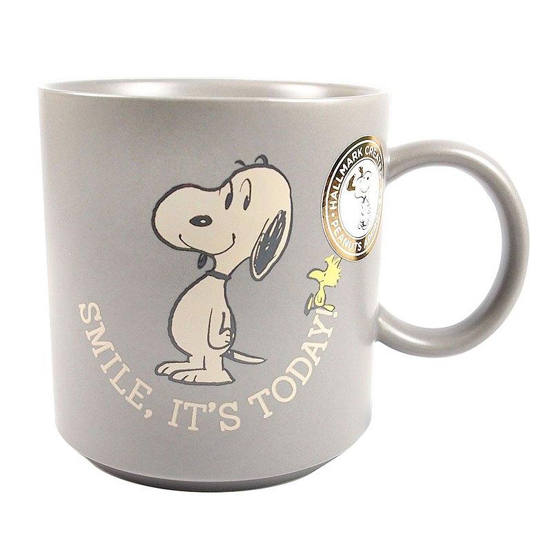 復古Snoopy馬克杯 今天要微笑【Hallmark-Peanuts史努比馬克杯 】