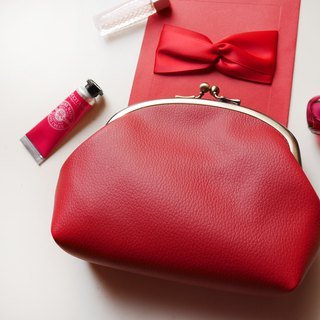 Royal Love Litchi Cosmetic Bag / Dust Bag / Gold Pack [Made in Taiwan]