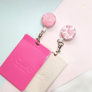 i Good clip telescopic document ticket holder clip - berry heart series Valentine's Day gift