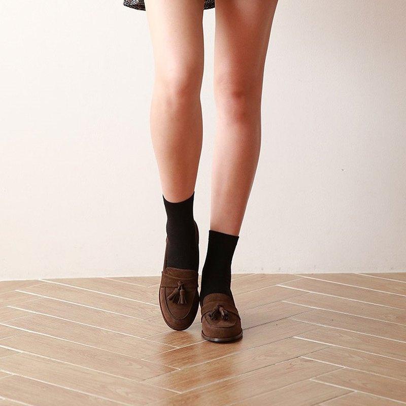 PRE-ORDER – 韓國人手製 MACMOC Movin (Brown) 流蘇樂福鞋