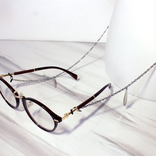 Leaf Stainless steel Glasses chain