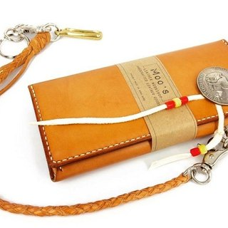 MOOS Indian American Vintage American Motorcycle Long Fortune BIKER LONGWALLET Saddle Leather