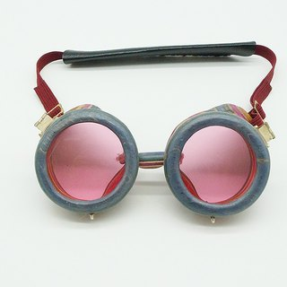 Handmade Recycled Skateboard Goggles 003
