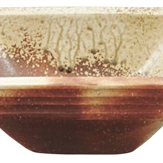 Tetra / Red KURENAI handmade kiln bowl