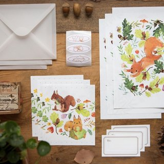 Squirrel Time - OURS Central POST Letter Set