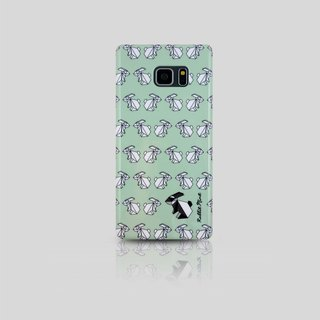 (Rabbit Mint) Mint Rabbit Phone Case - Origami Rabbit Series - Samsung Note 7 (00078)