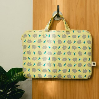 "13"" Laptop Case / NYA x inBlooom / Yellow Moon"
