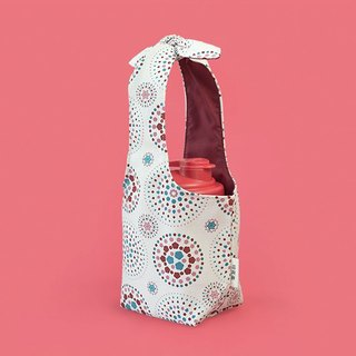 """Fatty Rabbit"" Bottle Holder / Firework / Gorgeous Pink"