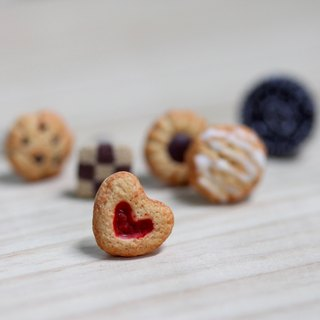 Miniature Classic Cookies Earring Set