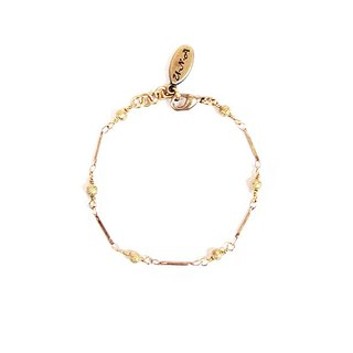 [UNA- excellent Na] handmade wild _Ⓓ basic shape models copper brass chain bracelet