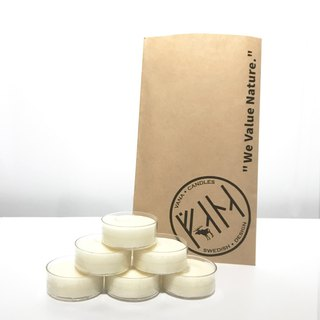 VANA Soy Wax Tea Light Candles (6 pcs per package)
