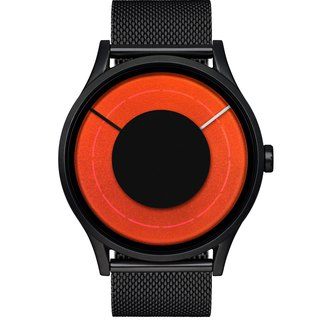 SOLARIS Series Watch (Black / Red / Orange / Green, Black / Blaze) * Stainless Steel Mesh Strap