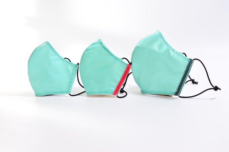 長效銀離子防飛沫/微粒過濾 環保布口罩