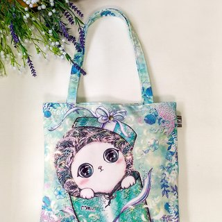 Good light small bag / shopping bag / lunch bag ● gift cat