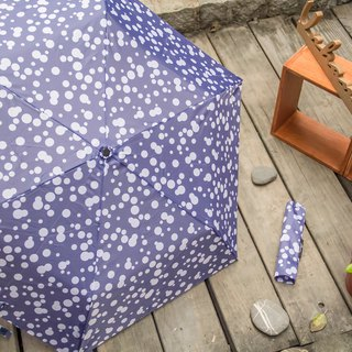 Lightweight bubble anti-UV umbrella – grey blue