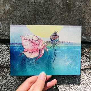 Story Postcard / Card - Betta / Home - Attribution