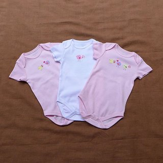 Female baby jumpsuit three groups