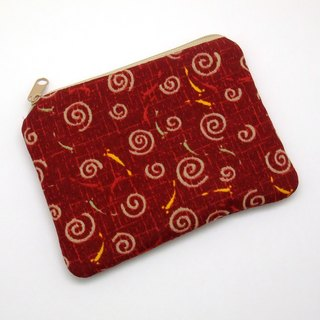 Zipper pouch / coin purse (padded) (ZS-206)