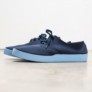 OLI13 Oxford OXFORD- Deep Blue Canvas Shoes │ Men's and Women's Shoes