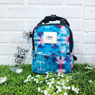 [Original price 880 listing limited discount 200] Le Tour series - dual-use mini backpack - blue smudge