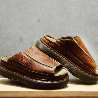 Tsubasa.Y Ancient House Mocha 004 Stitching Martin Shoes, Dr.Martens England