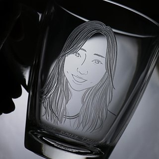 320cc [Portrait] custom gift birthday gift (Realistic Version) portrait mug friend recommended girls portrait engraving